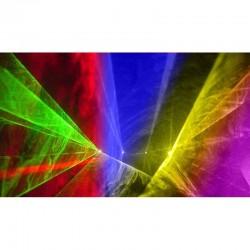 location Laser 5 têtes rouge, verte, jaune,bleu et rose qui projettent plus de 128 motifs Lorient Caudan
