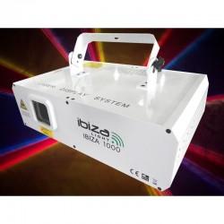 location Laser rouge et vert dmx 150 avec effet firefly et gobos graphiques lorient