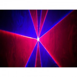 Location Laser d'animation RVB 500 mw DMX Lorient Caudan