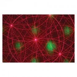 location Laser rouge et vert dmx 150 avec effet firefly et gobos graphiques Lorient Caudan
