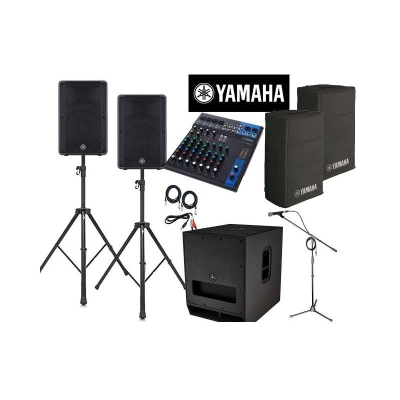 location Pack qualité Yamaha 150 personnes Lorient Caudan
